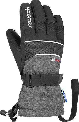 Reusch Kinder Connor R-TEX XT Junior Handschuh, Black/Black Melange, 3
