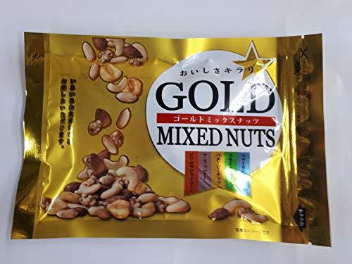ゴールドミックスナッツ 145g ジャイコーン フラッピー バタピー カシュー アーモンド