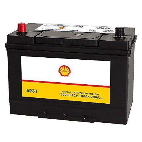 Preisvergleich Produktbild Shell SR31 Asia Autobatterie 12V 100AH 780A / EN 60033 Pluspol Links