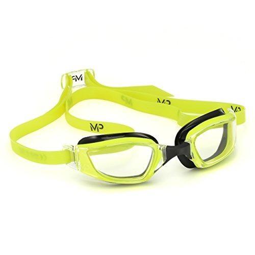 MPMichael Phelps Xceed, occhialini da Nuoto, Unisex, Xceed, Yellow/Black/Clear, N/A