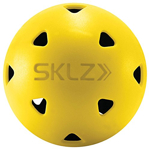 SKLZ Limited-Flight Practice Impact Golf Balls, 12 Pack