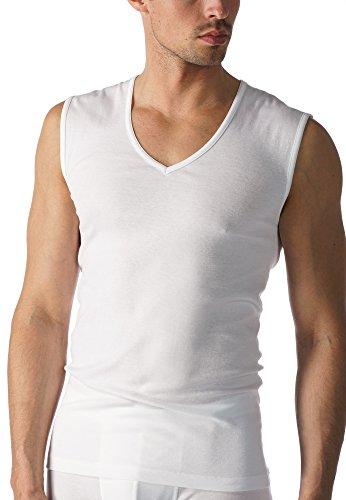 Mey Basics Serie Casual Cotton Herren Shirts 1/1 Arm Weiß 6