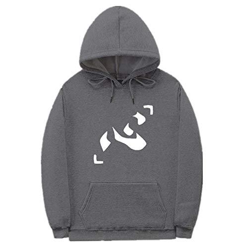 3D Unisex Kids Hunter X Hunter Killua Eyes Hisoka Hoodies for Boys Sweatshirts with Pockets Casual Jumpers Sweater-A_L