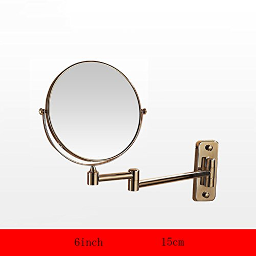 Premier Housewares Table Miroir 15 cm-CHROME-Loupe de rasage pivotant