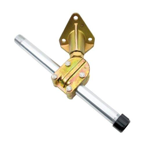 Ultraflex, Zubehör für Steuersysteme Spritzwannendurchführung, Aluminium, 58634