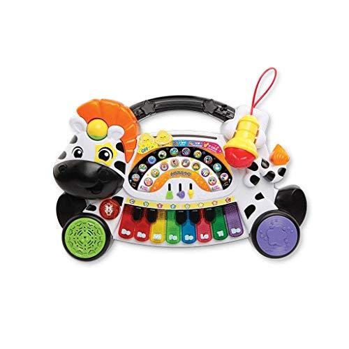 LIUFS-El teclado Juguete para niños Teclado Música Puzzle Regalo Dibujos animados (Color : Small zebra-Keyboard)