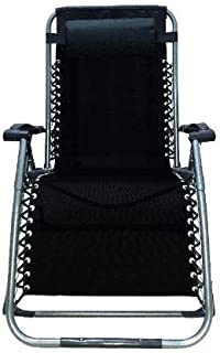 Four Seasons Upgraded Heavy Duty Zero Gravity Chair Lounger Recliner Folding Adjustable Portable Office Patio Camping Outdoor Sports with Square Legs & Cup Holder Support 330 LBS