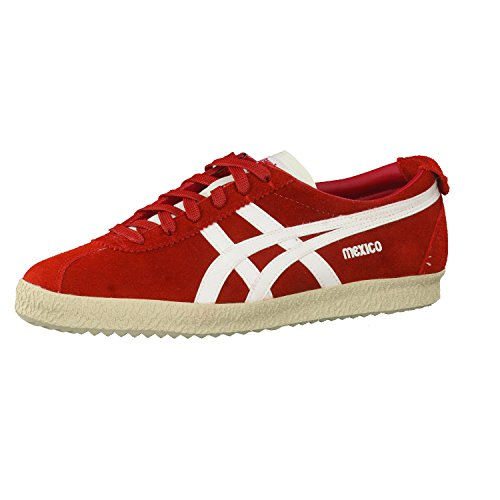 Asics D601L - Mexico Delegation Unisex Asics Unisex-Adulto Color: Red-Slight White Talla: 36