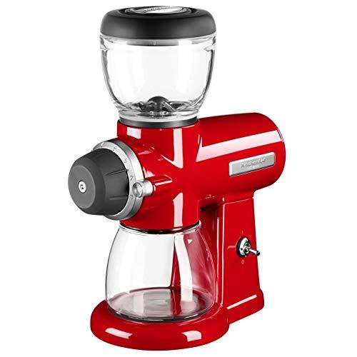 KitchenAid 5KCG0702EER, ARTISAN koffiemolen met schijfmaalwerk, EMPIRE ROOD