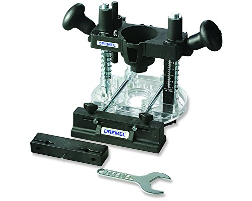 Dremel 335 Plunge Router - Rotary Tool Attachment for Precision Routing, Cutting, Drilling, Trimming & Inlay Work