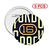 Insomnia Space Turbo Grafx 16 Round Pattern Badge Accessory
