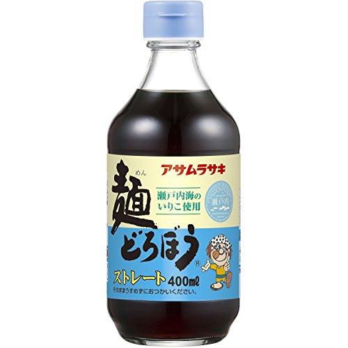 アサムラサキ 麺どろぼう ストレート 瓶 400ml