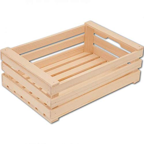 HOFMEISTER® Obstkiste Kiste offen aus Holz L300xB220xH100 mm Kaufladen