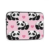 Accesorios para Macbook Air Cute Panda Illustration Vector Panda Baby Accesorios para Macbook Multicolor