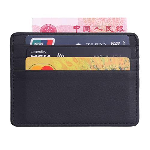 peng mannen lederen dunne portemonnee ID geld kredietkaart slanke houder geld zak organisator