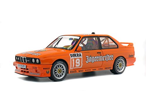 Solido S1801504 1:18 BMW E30 DTM Jagermaester-Hahne, Mutli
