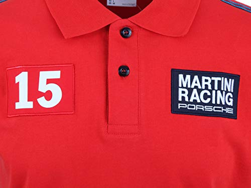 Porsche - Polo para Hombre - Martini Racing (L) - WAP92200L0F ...