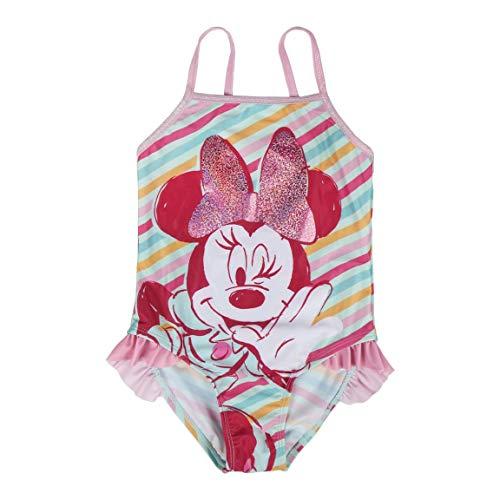 Disney Minnie 2200003782 Costume Intero, con Volant, Bambina, Multicolore (6)