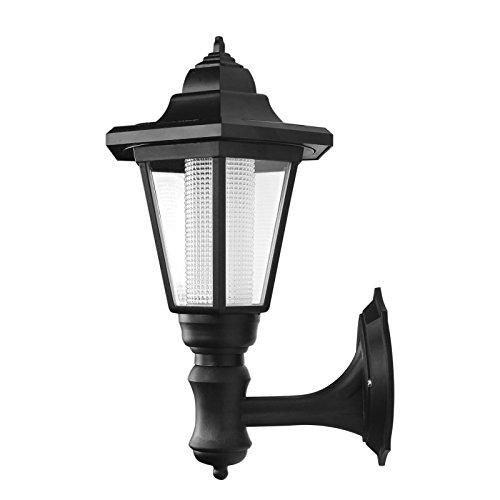 Vingtank Lampada a Parete Solare Alimentata a Parete Lampada a Sospensione Impermeabile a Parete Illuminazione a Muro Esagonale a Led Illuminazione Per Esterni a Lampada