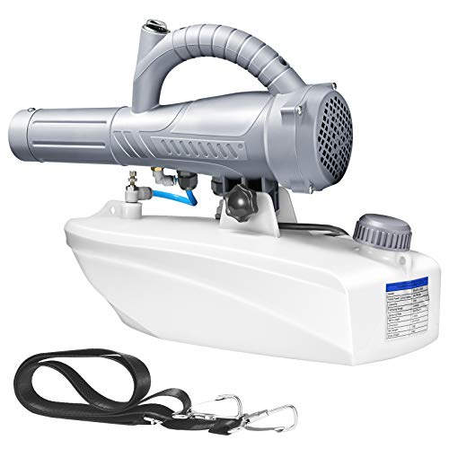 TELAM 5L Hand-Nebelmaschine, Langstrecken-600W-Maschine Tragbares, einstellbares Durchflussspray für Zuhause, Hotels, Büro, Schule, Innen und Außen