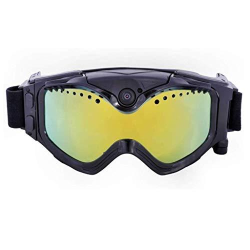 DDPHC Skibril met action camera lagen anti-condens-skimasker bril skiën zonnebril mannen sneeuw snowboardbril