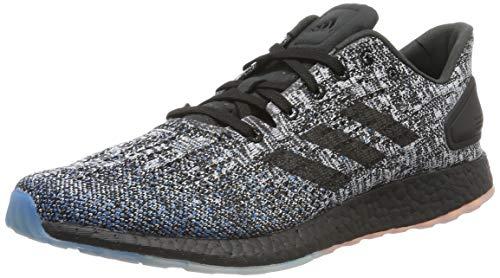 adidas Pureboost DPR Ltd, Zapatillas de Running Hombre, Negro (Core Black/Core Black/Active Red Core Black/Core Black/Active Red), 37 1/3 EU