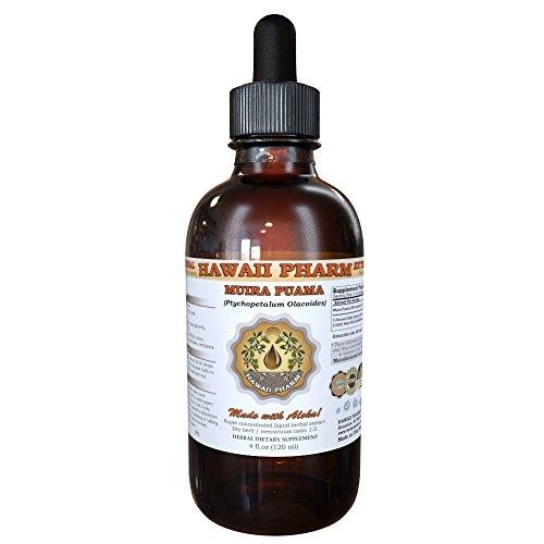 Muira Puama Liquid Extract, Organic Muira Puama (Ptychopetalum Olacoides) Tincture Supplement 2 oz