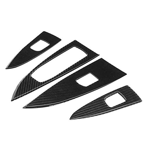 LBLDD 4 Piezas De Vidrio De Ventana De Coche Interruptor De Elevación De Panel De Interruptores Embellecedores De Paneles Accesorios De Automóvil, para Buick Regal 2017-2020
