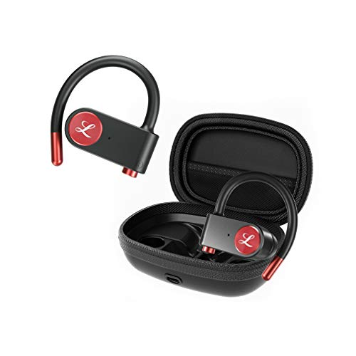 41m6Kbxj9CL. SL500  - True Wireless Earbuds, TaoTronics Bluetooth Headphones V5.0 TWS in-Ear Earphones TT-BH053 with Charging Case and Built-in Mic Easy-Pair Sweatproof Mini Touch Control Earbuds 40 Hours Playtime