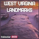 West Virginia Landmarks Calendar 2022: Official West Virginia Calendar 2022, 18 Month Photo of West Virginia Travel calendar 2022, Mini Calendar