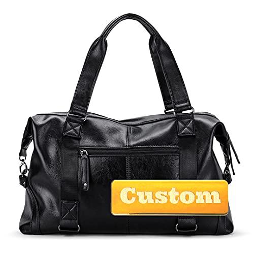 Personalizzato Nome Cartella per le Donne Carino Donna Laptop Tote Bag Business Notebook Organizzatore per le Donne, Nero , Taglia unica,