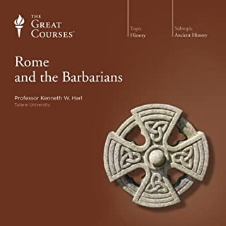 Rome and the Barbarians                   Written by:                                                                                                                                 Kenneth W. Harl,                                                                                        The Great Courses                               Narrated by:                                                                                                                                 Kenneth W. Harl                      Length: 18 hrs and 24 mins     6 ratings     Overall 4.8