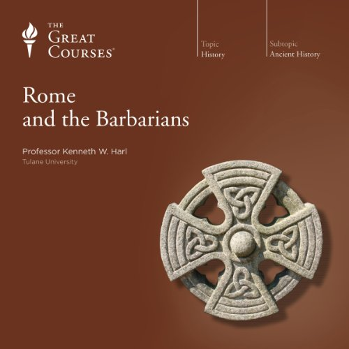 Couverture de Rome and the Barbarians