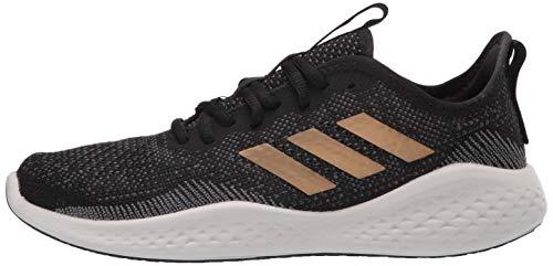 adidas Women's Fluidflow Running Shoe, core Black/Tactile Gold Met./Grey Six, 7.5 M US 7