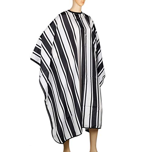 Waterdicht Kapsel Kappers Schort Polyester Haar Styling Ontwerp Levert Salon Barber Wrap Jurk met Verstelbare Knop kapsel schort