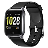 Letsfit Smartwatch, Fitness Tracker Armbanduhr mit Schlafmonitor, Heart Rate Monitor, IP68...