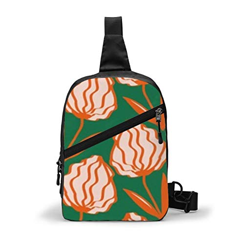 Drawing Art Deco Unisex Sling Bag Chest Bag Messenger Bag