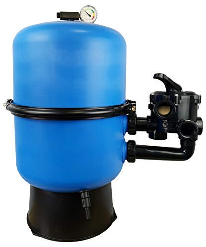 well2wellness Pool Sandfilter Behälter Sandy.Split 2-geteilt Ø 600 mm mit 6-Wege-Ventil