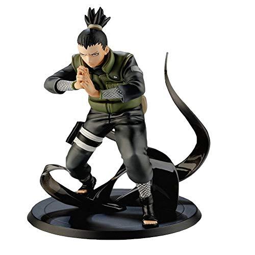 Canghai Naruto Hatake Kakashi Nara Shikamaru Action Figure Anime Characters Collectible PVC Figure Toy(Nara Shikamaru)(H02)