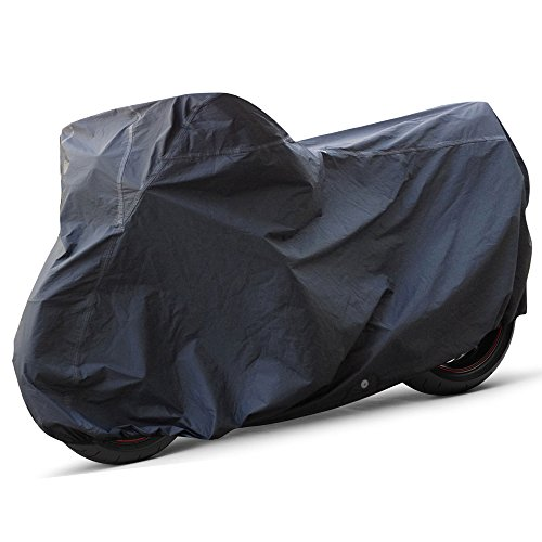 OxGord Executive Storm-Proof Motorcycle Cover - 100% Water-Proof 7 Layers - Ready-Fit / Semi Custom - 4X-Large