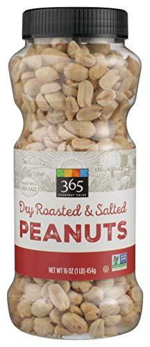 365 Everyday Value, Peanuts, Dry Roasted & Salted, 16 oz