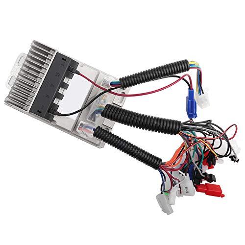 Controlador sin escobillas para Scooter, Controlador sin escobillas de 48 V-60 V, Aluminio eléctrico de 500 W para camión y Bicicleta eléctrica