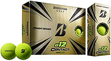 Bridgestone Golf e12 Contact Golf Balls (One Dozen)