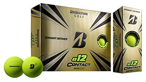 Bridgestone Golf 2021 e12 Contact Golf Balls, Matte Green