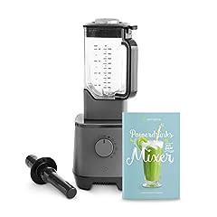 Wysokowydajny mikser Hanno 2000 W, 32 000 obr./min, mikser stojakowy z pojemnikiem tritanowym 2,5 l bez BPA, Smoothie Maker + Bezpłatna broszura z przepisami