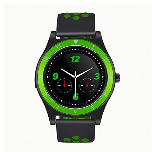 Smart Watch Independent Karte Android Und IOS Sport Armband Multi-Funktions-Farbdisplay Wasserdicht Anti-Diebstahl-Memory-Uhr Unisex,Greenandblack