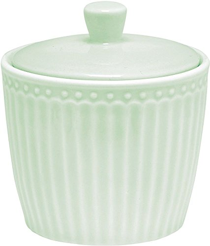 GreenGate Zuckertopf - Sugar Pot - Alice Pale Green