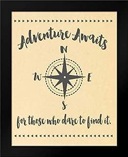 Adventure Awaits Framed Art Print by Moulton, Jo