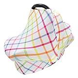 TOYANDONA Nursing Cover Breastfeeding Scarf Carseat Canopy for Mom Breastfeeding Stroller High Chair