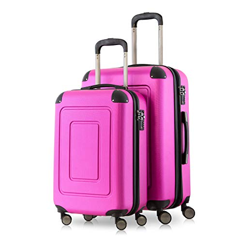 Happy Trolley Lugano Hand Luggage, 66 cm, 78 liters, Pink (Magenta)
